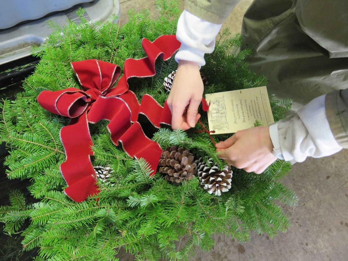 sisters of the norbertine prepare for annual holiday wreath fundraiser