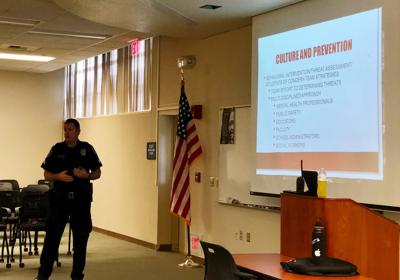 BC's active shooter training teaches community how to be prepared for potential risk