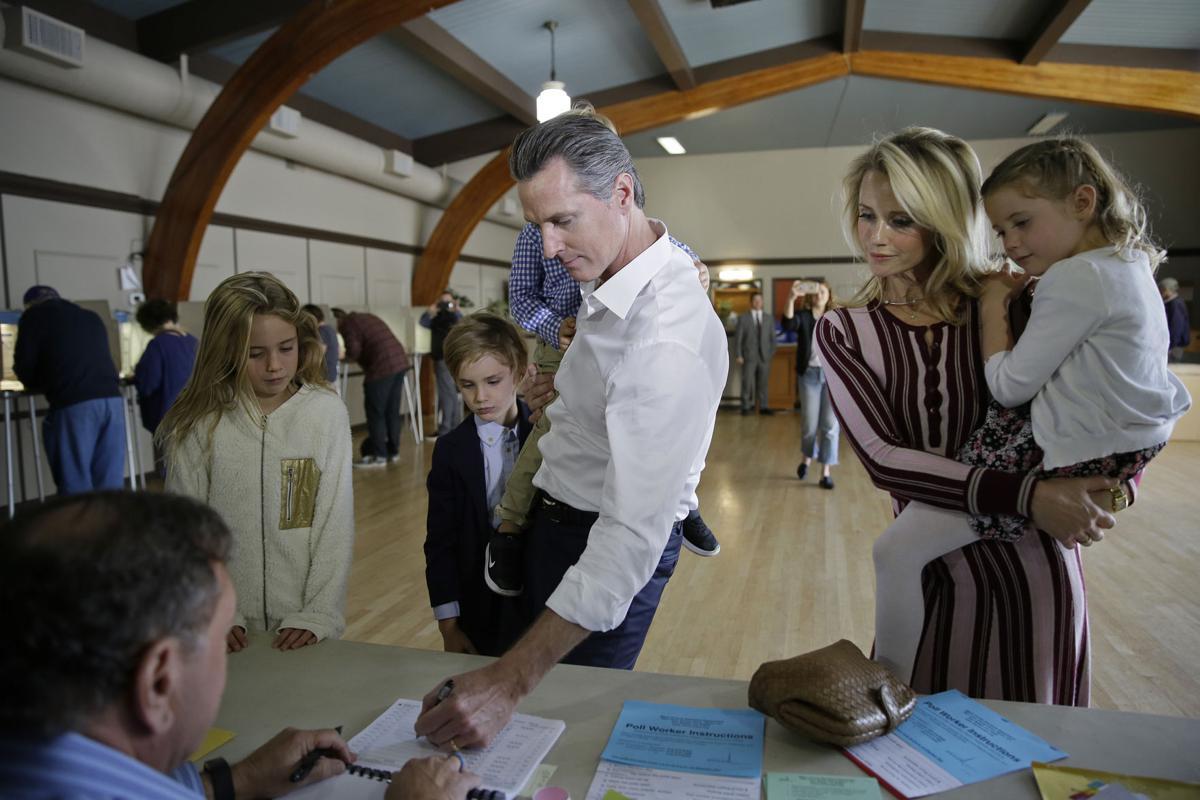 Election 2018 Governor California Newsom