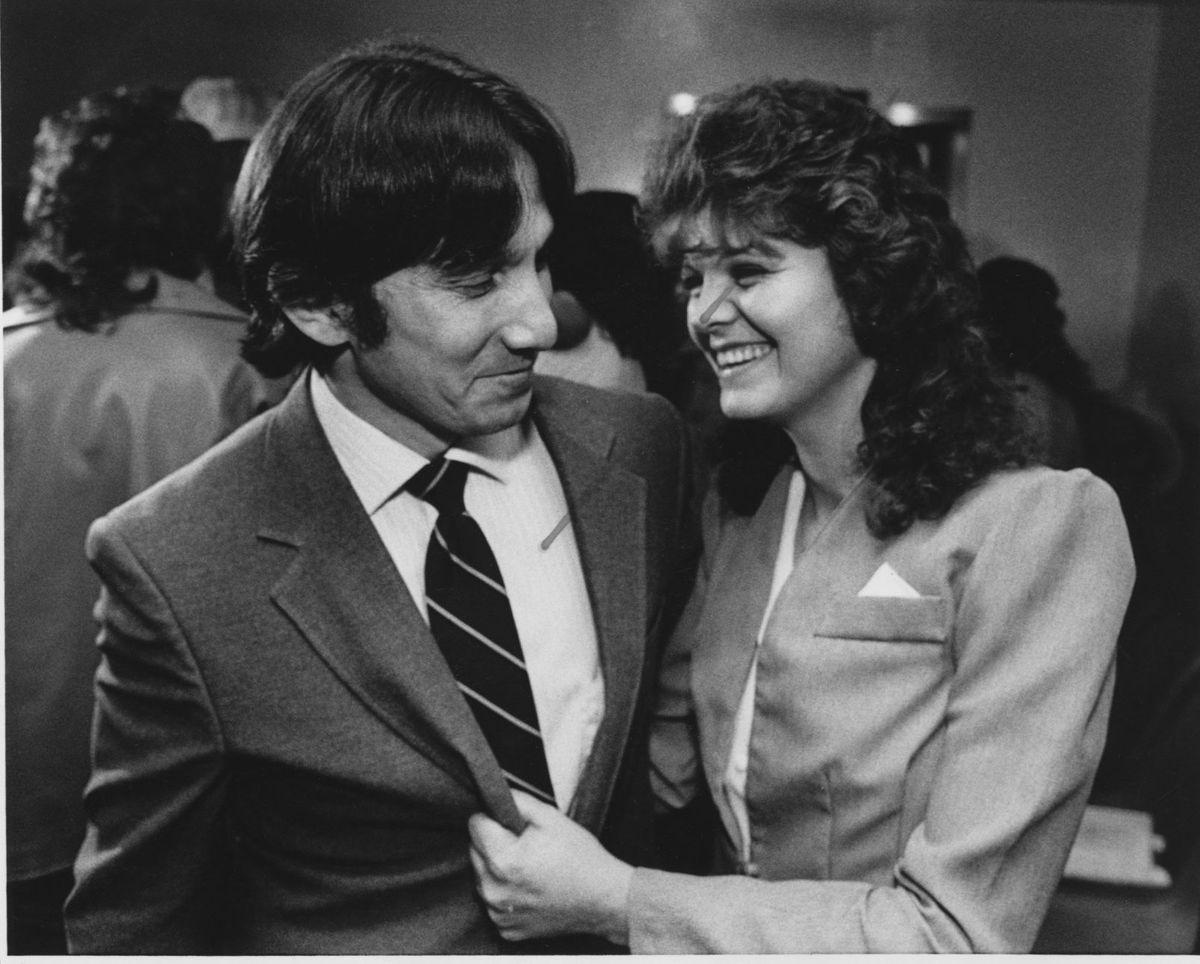 Gerardo and Cheryl Gonzales 1987