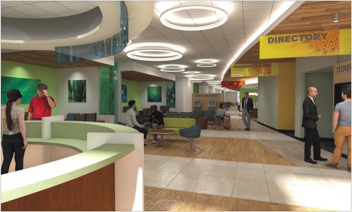 Interior View of CBOC
