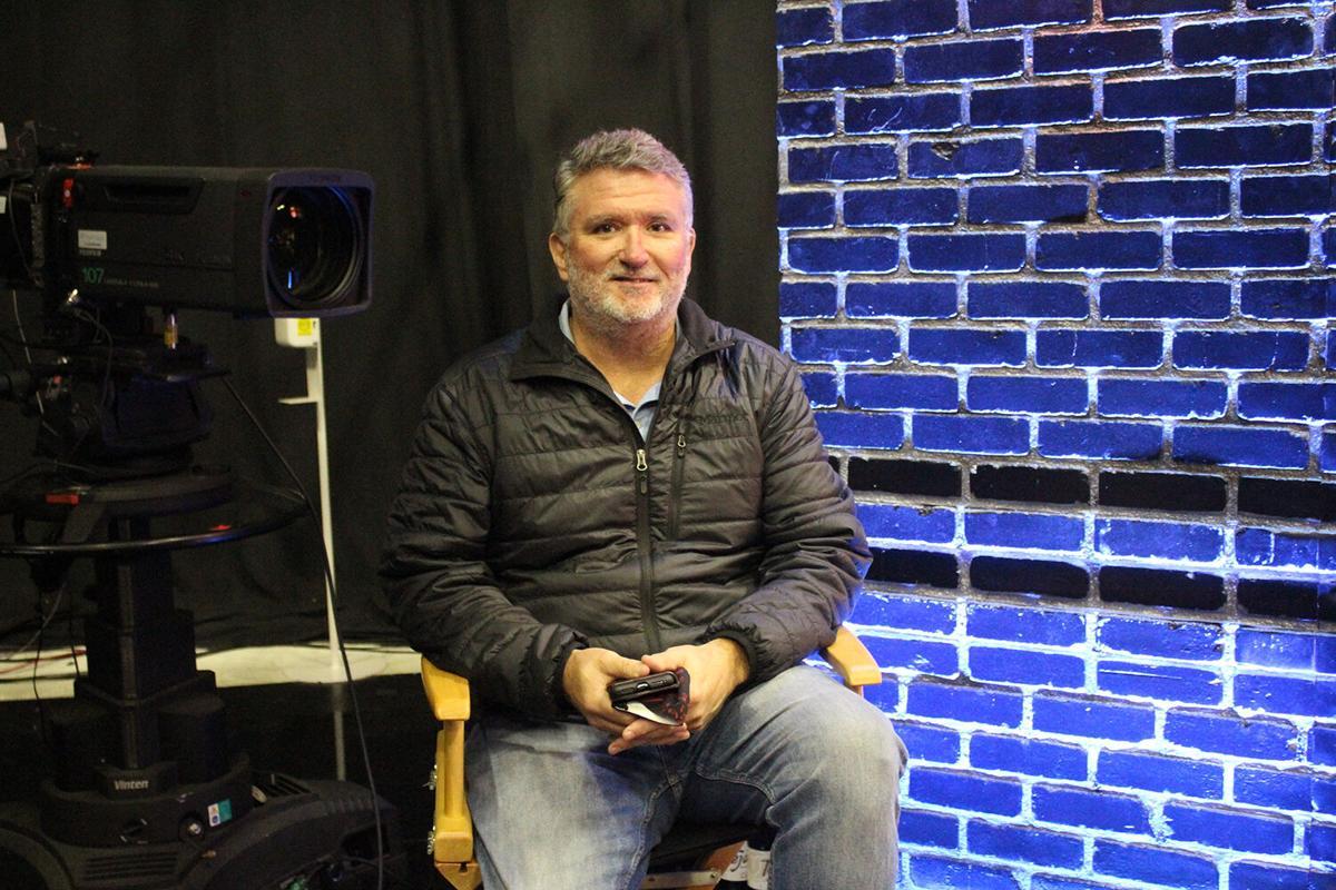 Matt Harris in studio
