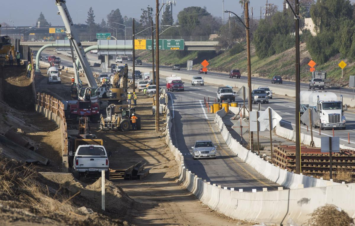 Work on Highway 58/99 interchange to wrap up this spring | News