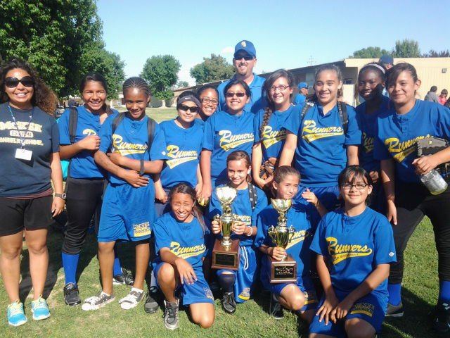 Mckee Middle School 6th Grade Girls Softball Team