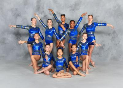 American Academy gymnastics competes in New Orleans