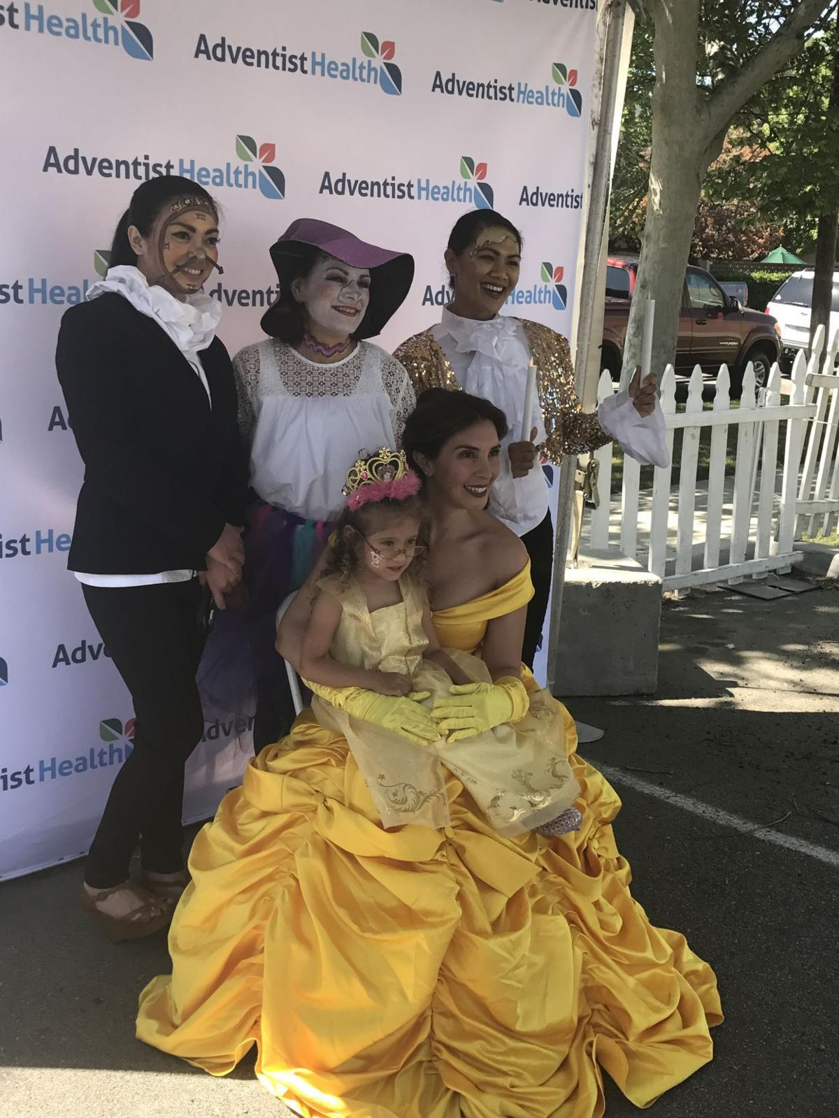 Be Our Guest San Joaquin Community Hospital Hosts Beauty And The