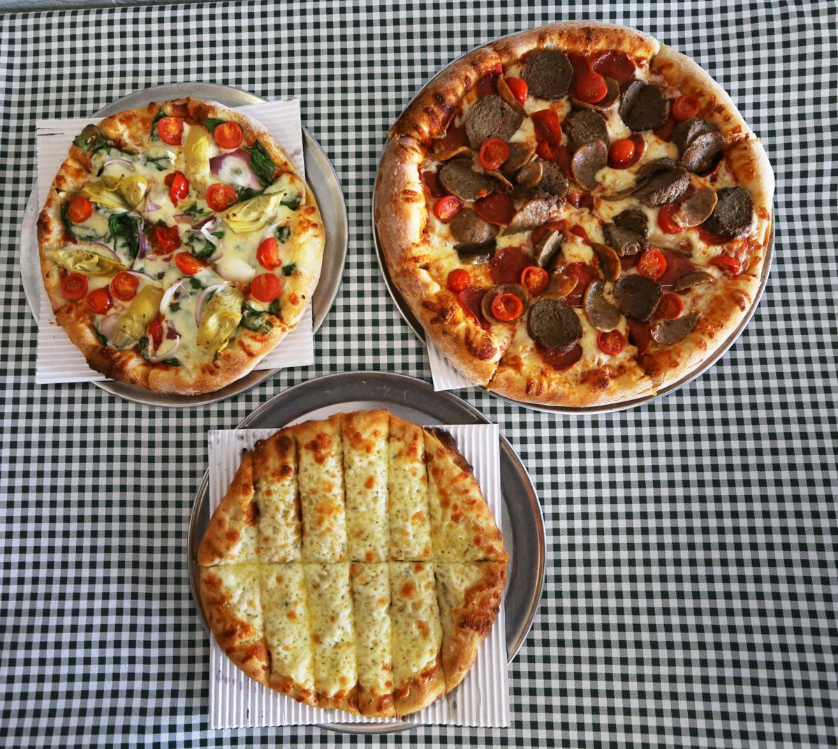 Zeppo's pizzas