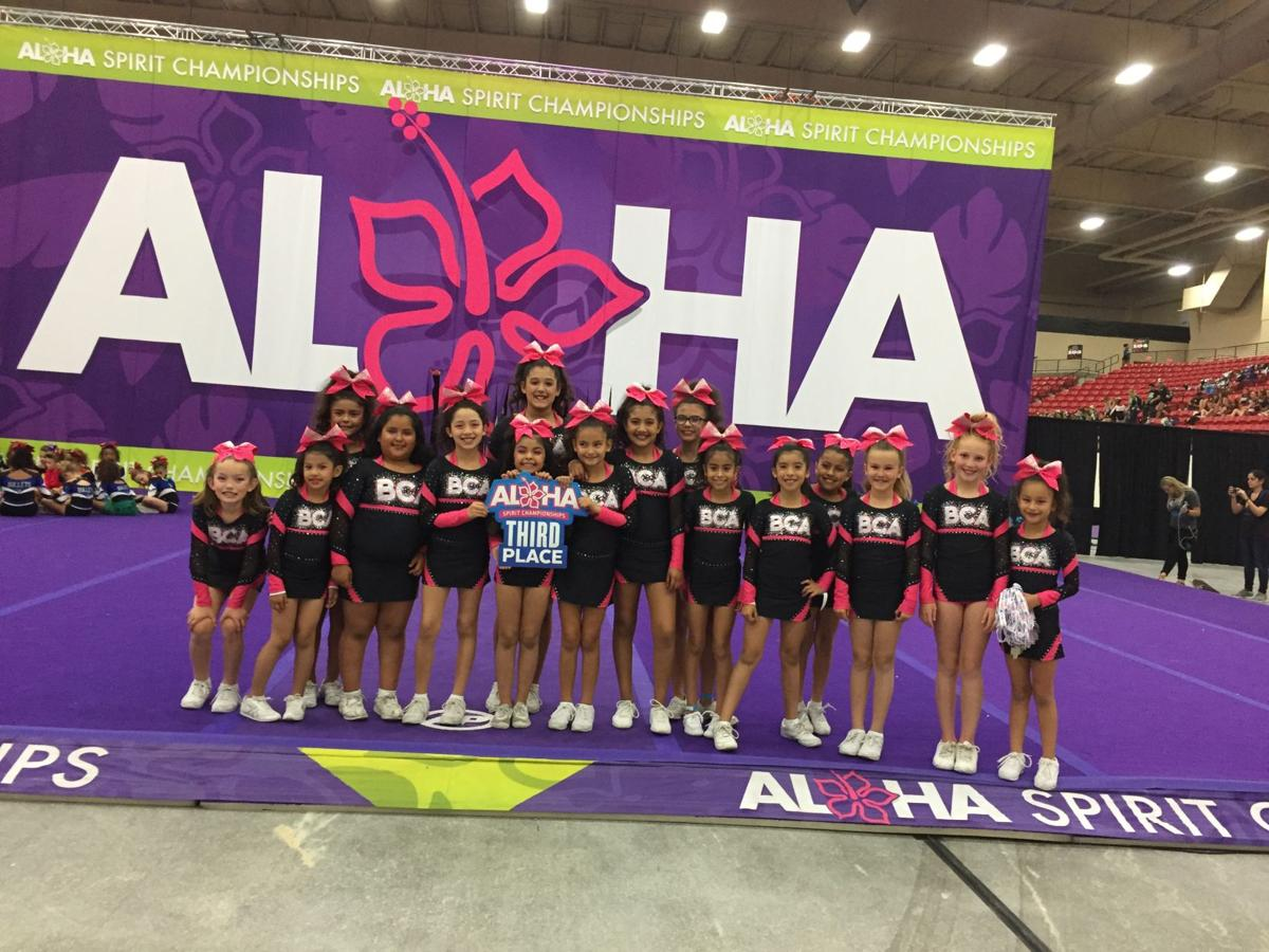 BCA competes at cheerleading nationals in Las Vegas | Archives