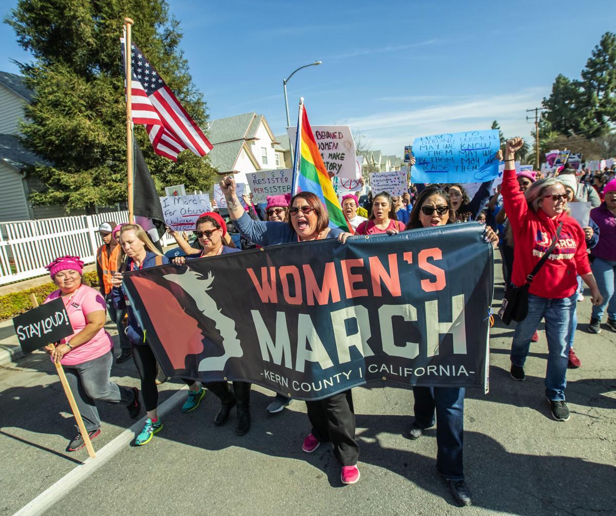Womens March Bakersfield06