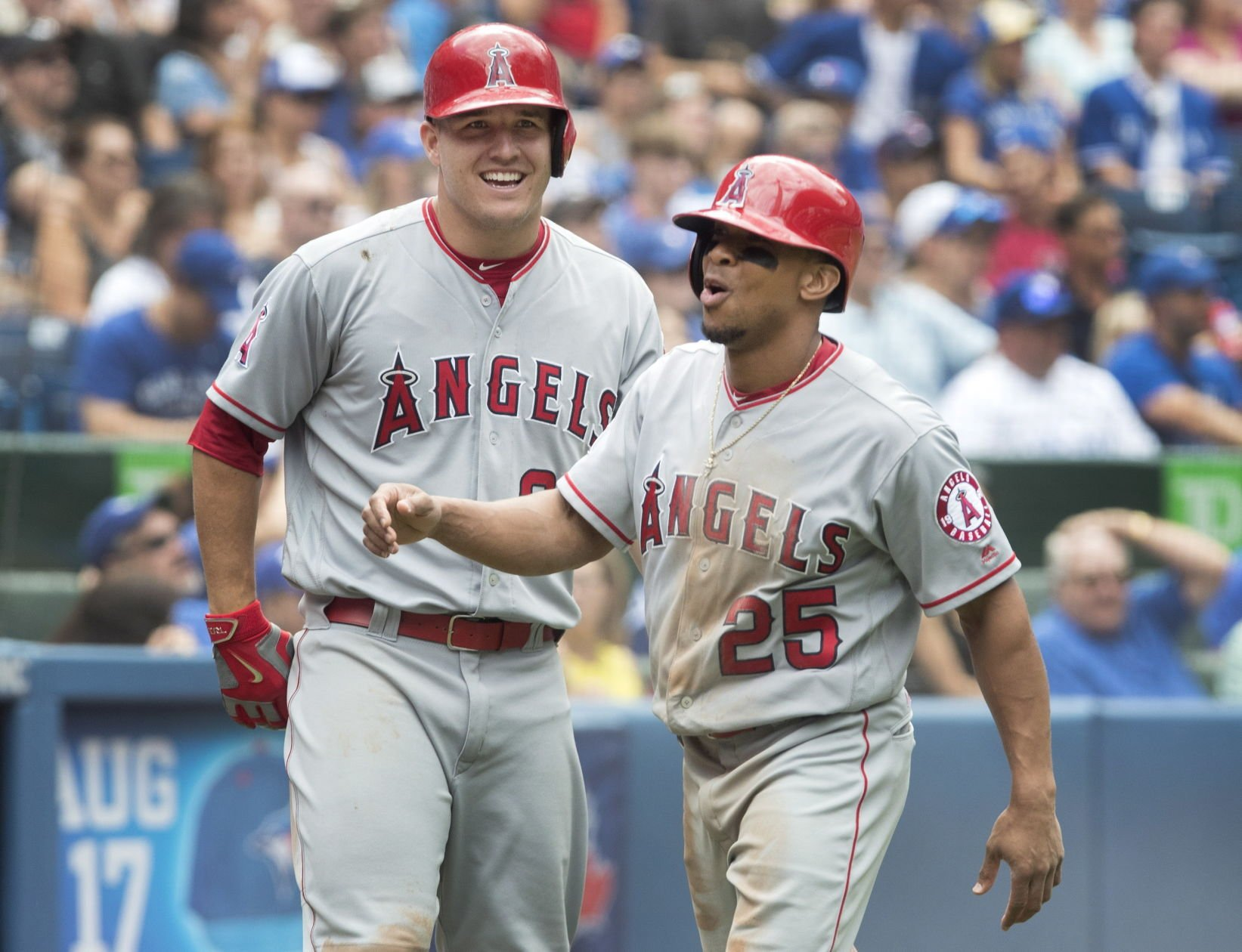 Los Angeles Angels rally in 9th to beat Toronto Blue Jays