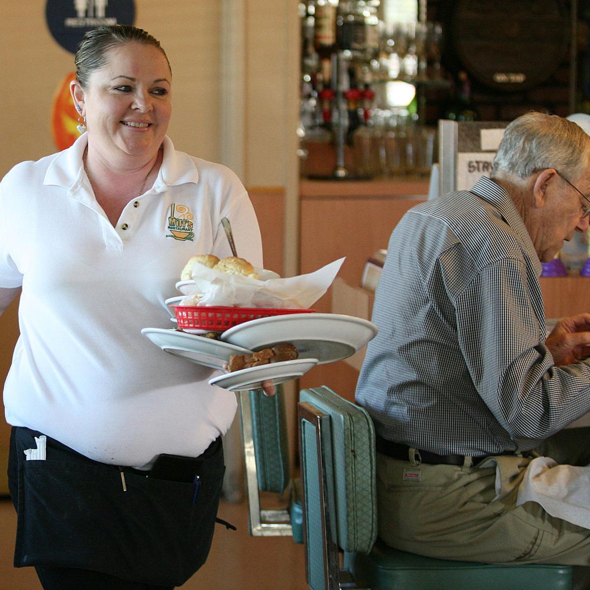 A great waitress and a good friend   News   bakersfield com