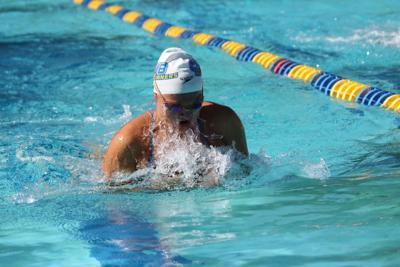 Autumn D'Arcy CSUB swimming