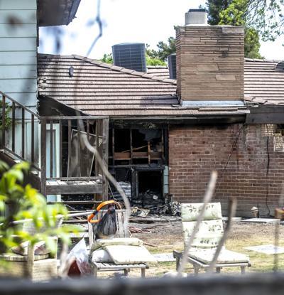 House fire on Beech Street