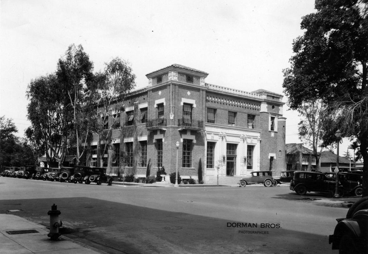 The Bakersfield Californian building in 1926.