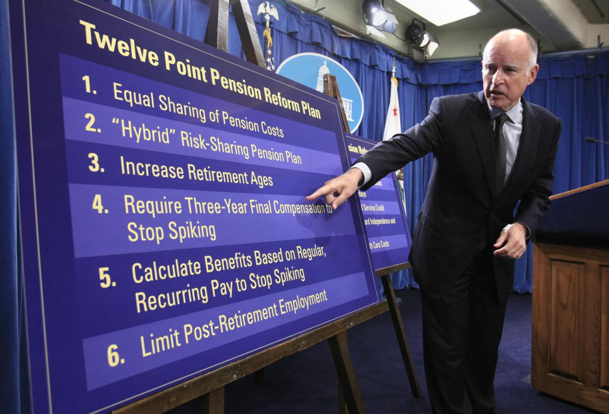 Jerry Brown pensions