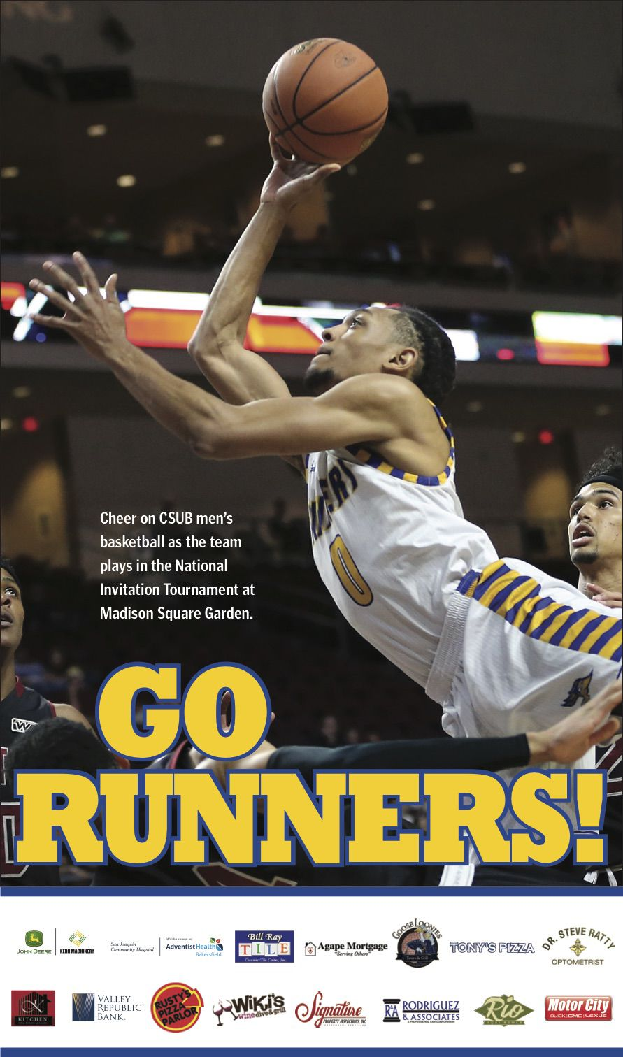 CSUB Go Runners Poster