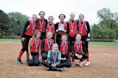 Baldwin 14U softball champions
