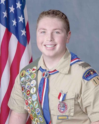 Rumpel earns Eagle Scout Distinction