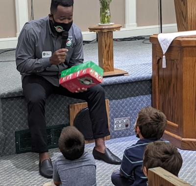 Operation Christmas Child Shoebox Recipient Speaks at Baldwin CRC