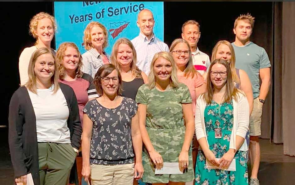 Five years of service – Certified Staff