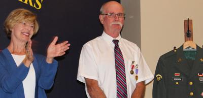 Baldwin vet awarded Purple Heart:  Receives recognition after 48 years