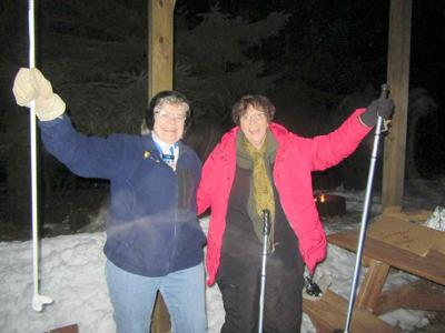 Enjoy winter! Snowshoe!