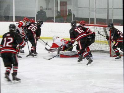 Boys hockey gain some redemption in defeating Northwest Icemen