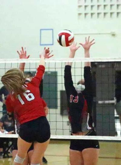 Blackhawk volleyball closes out regular season with two wins