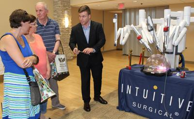 Western Wisconsin Health reveals surgical robot at annual open house
