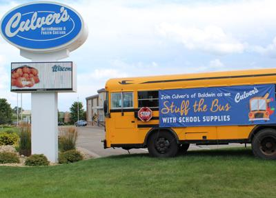 'Stuff the Bus' event helps students and teachers breathe easier