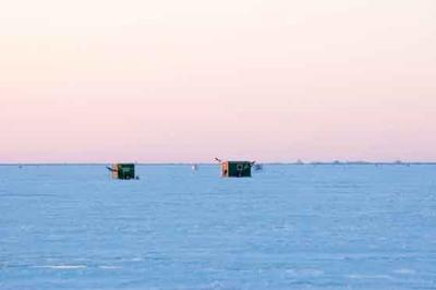 Ice shanty removal dates approaching