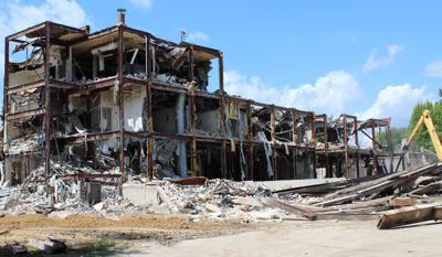 Original hospital on its last legs as demolition moves forward