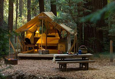 Glamping Takes the Work Out of Camping