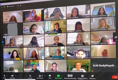 Teens Connect English Learners With Teachers