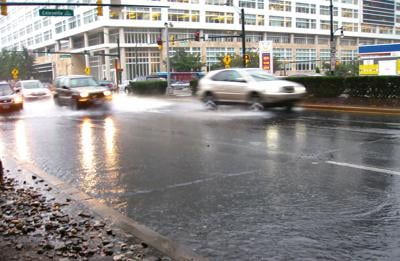 Stormwater at MD intersection