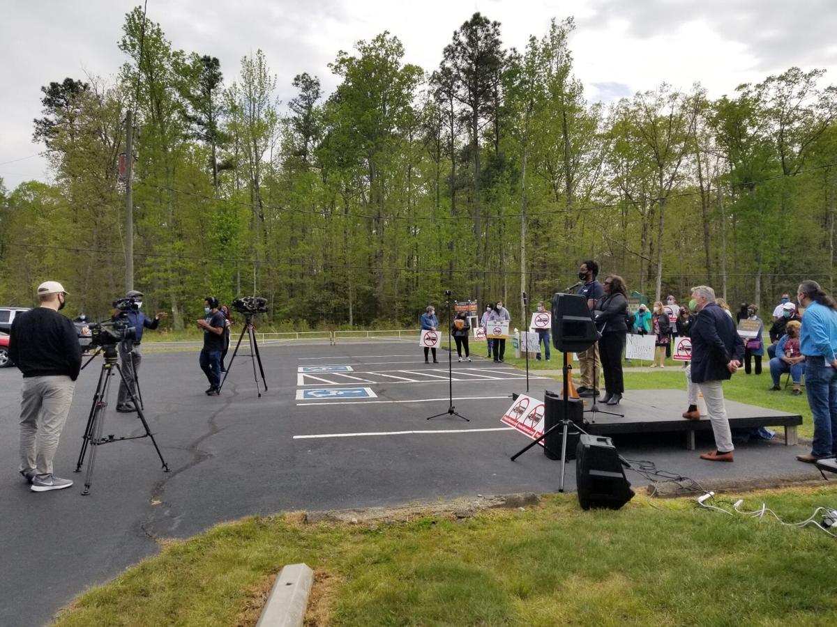 Brown Grove VA press conference
