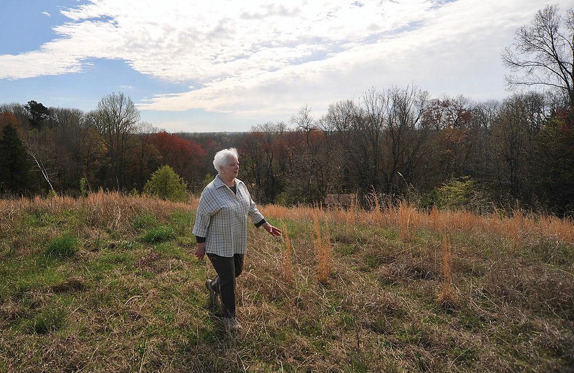 Lucy Harman on VA farm