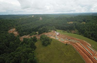 Atlantic Coast Pipeline aerial