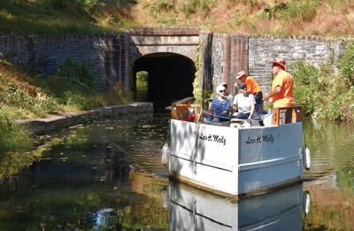 Union Canal ride leads passengers down path to past