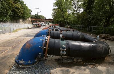 Sewer repairs in Baltimore