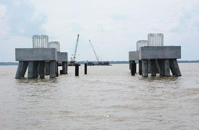 Court overturns permits for transmission line built over James
