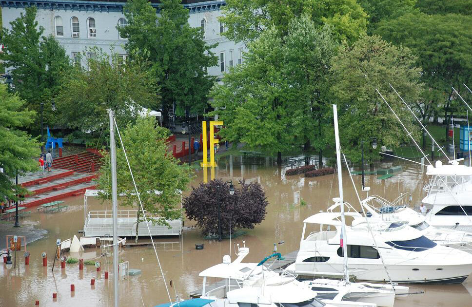 Flooding in Kingston, NY