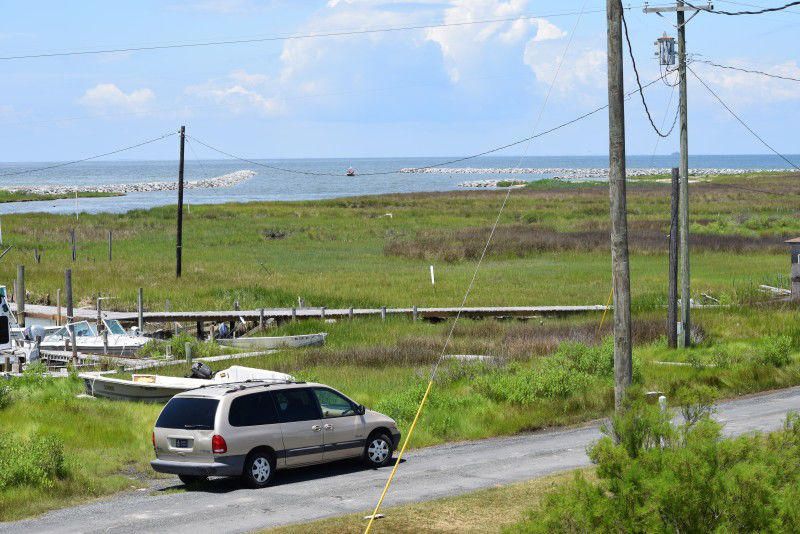 Amid rising waters, Smith Island puts faith in jetties, God