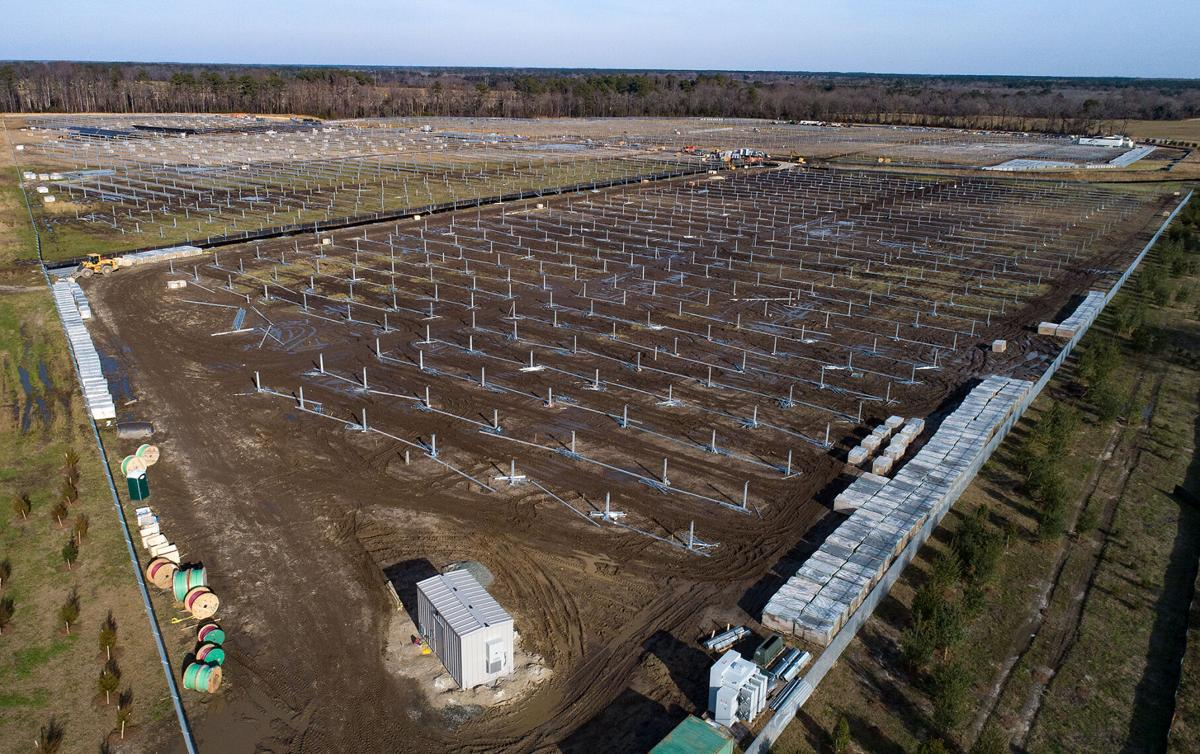 Solar array, MD