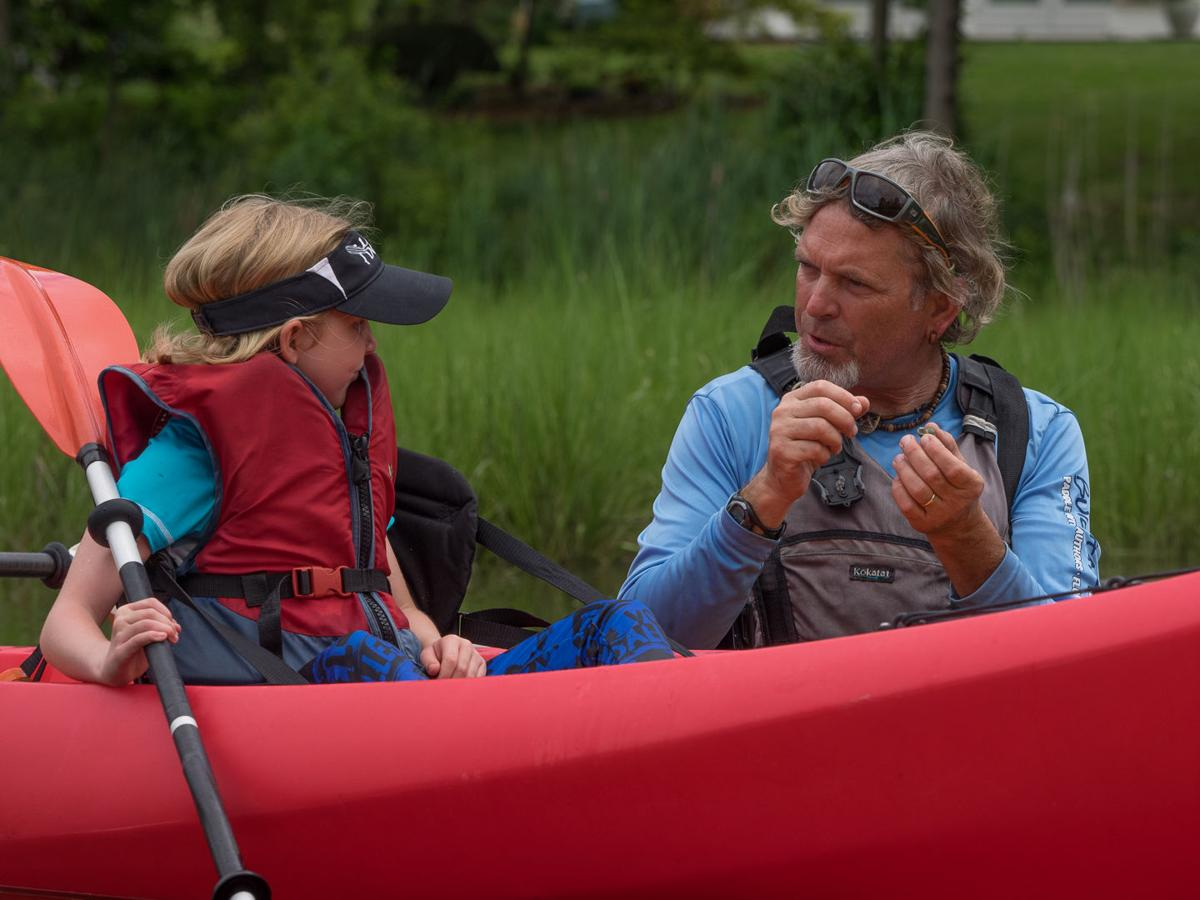 Onancock Creek VA paddle with guide