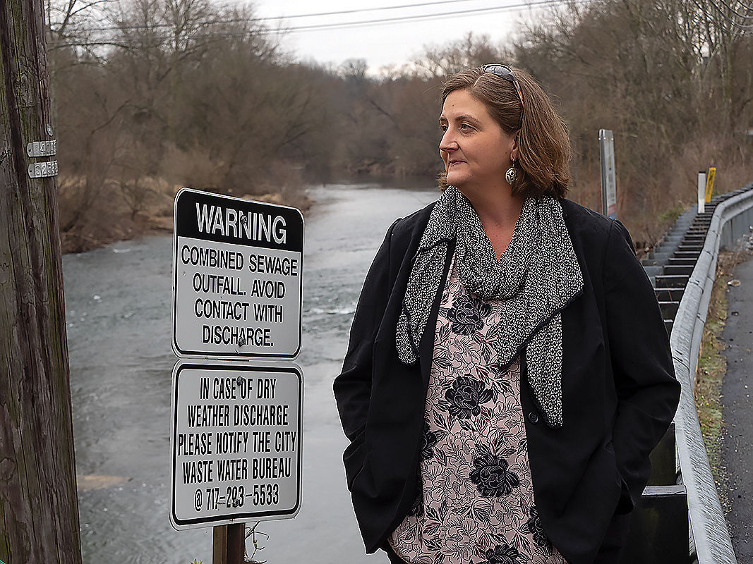 Ruth Hocker, stormwater manager for Lancaster, PA