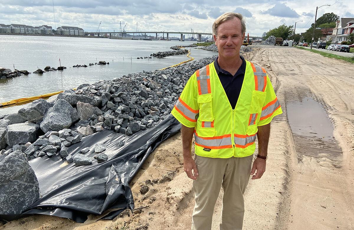 Norfolk shoreline project