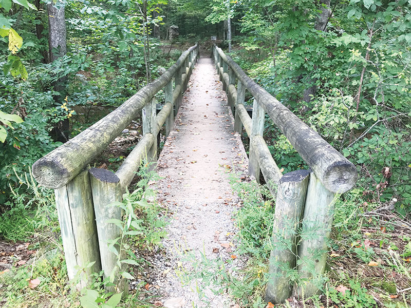 Devils Marbleyard footbridge