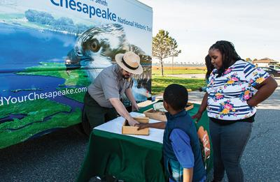 On the road: Roving Ranger brings Chesapeake Trail to you
