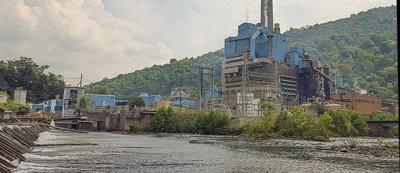Luke MD paper mill on North Branch Potomac